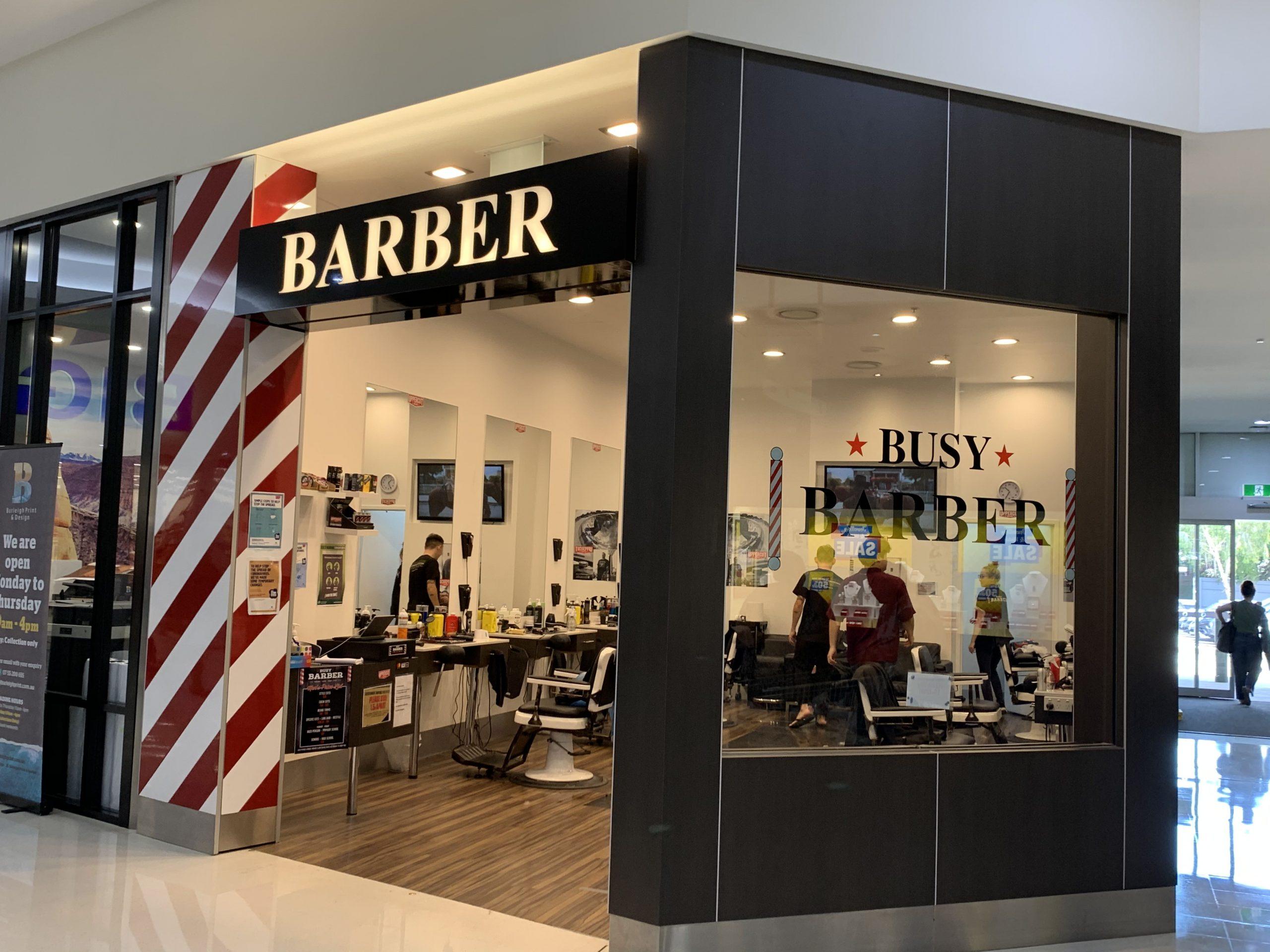 Busy Barber Burleigh